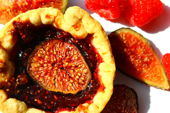 Fig Raspberry Tart_16