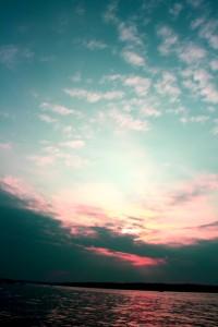 Sky and lake_2