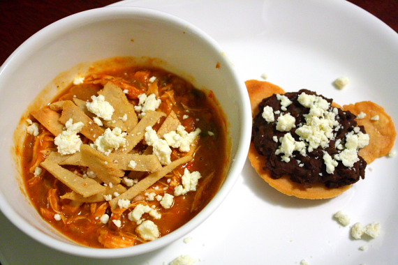 Tostada and Tortilla