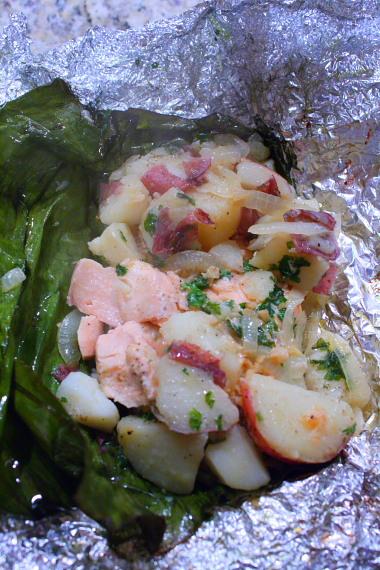 Salmon in foil_8