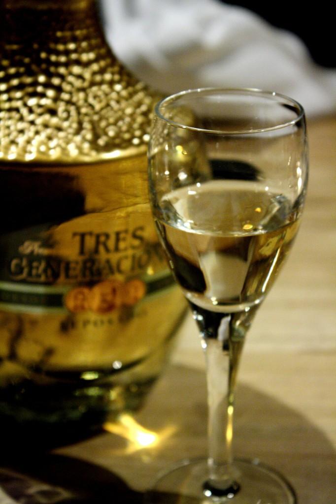 Tres generaciones repasado tequila
