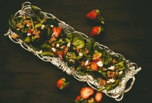 strawberry balsamic salad by Better with Butter