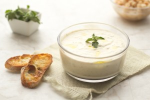 white bean goat cheese dip | from Better with Butter