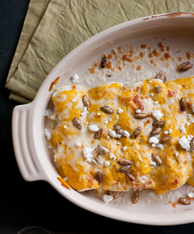 pumpkin pork enchiladas 3