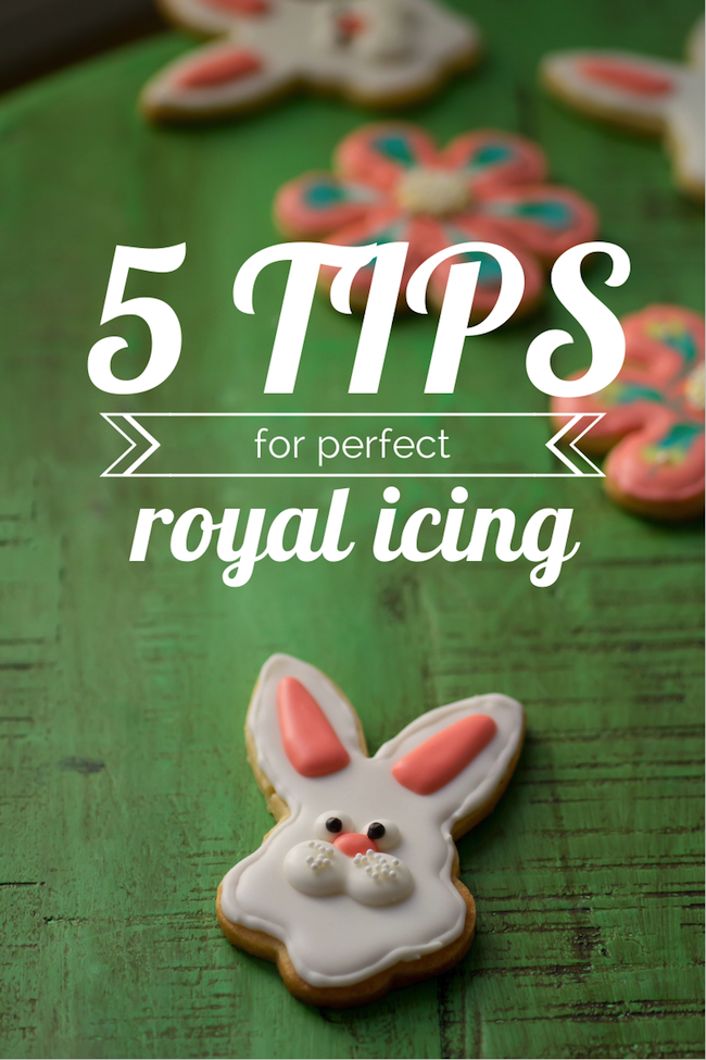5 tips for perfect royal icing sugar cookies